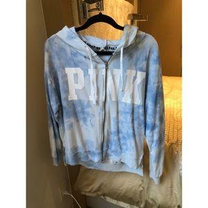 PINK Victoria's Secret zip up sweatshirt!